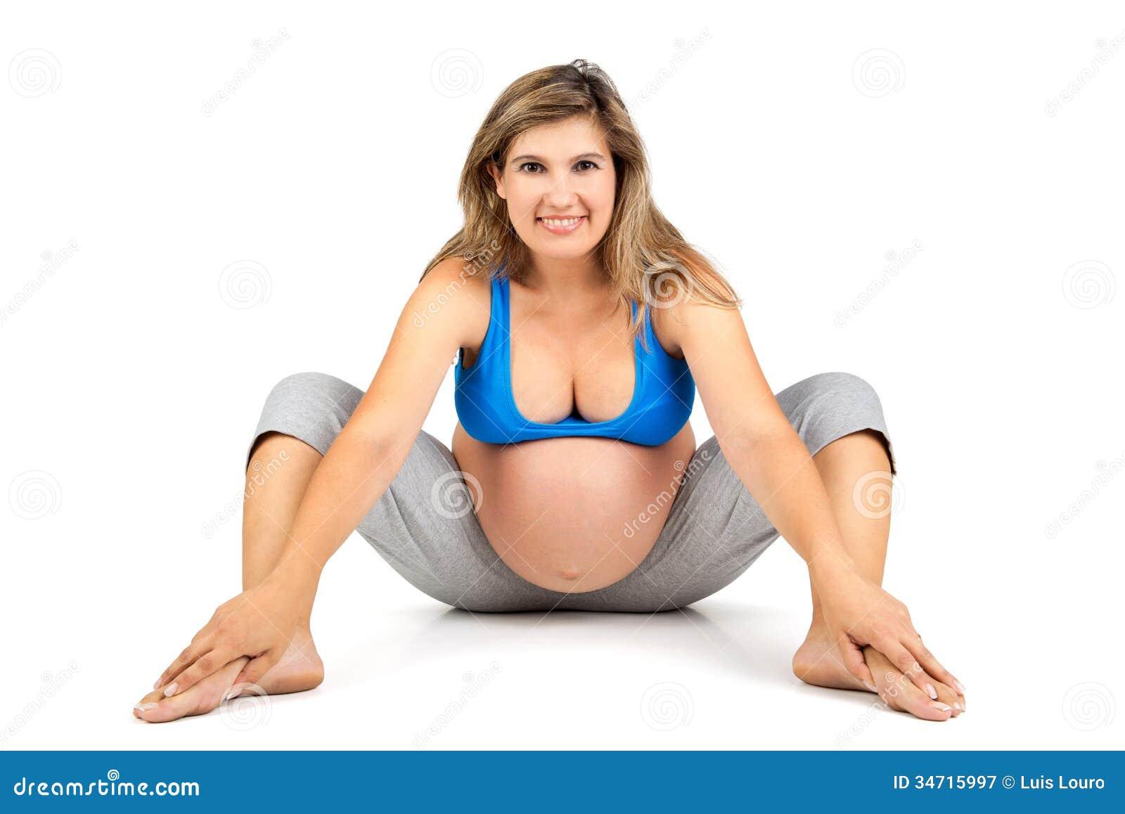 Pregnant Woman Workout 2