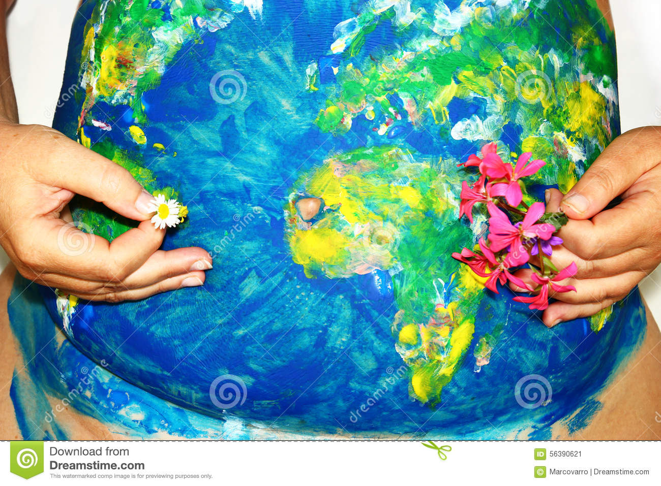 Pregnancy world stock image  Image of woman, globe, belly