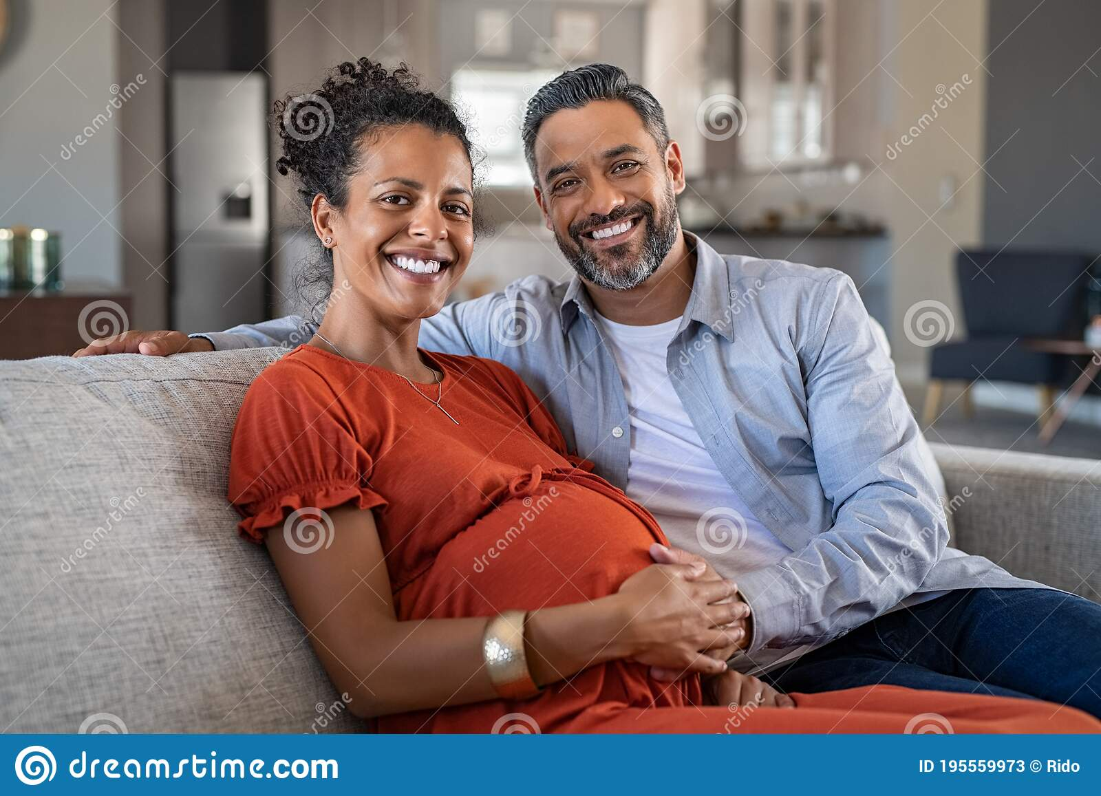 Wife pregnant by black man