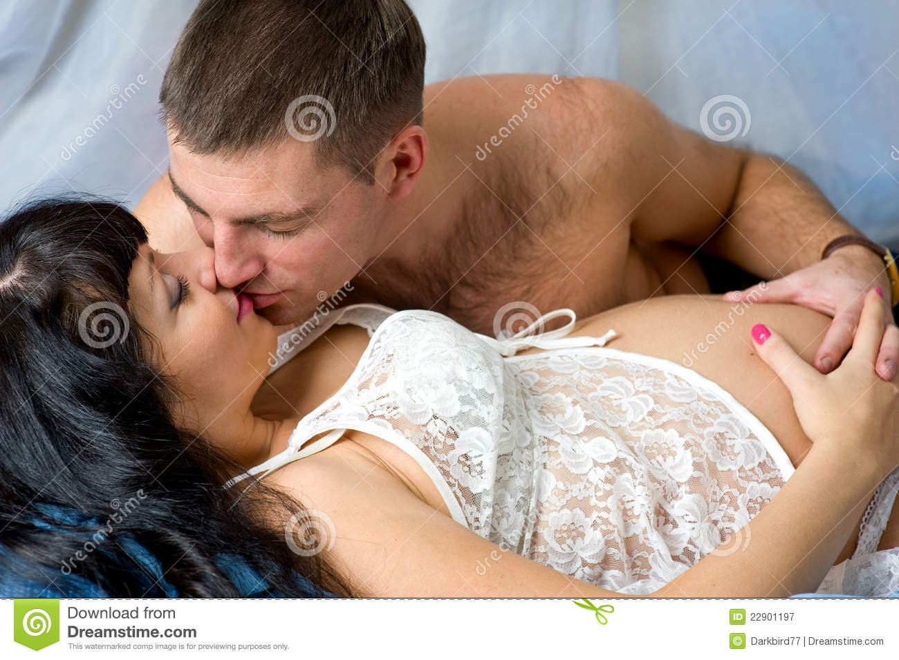 Bedroom Kissing Games Pregnant Couple Kissing Stock Image Image Of Family Making Love Ladies