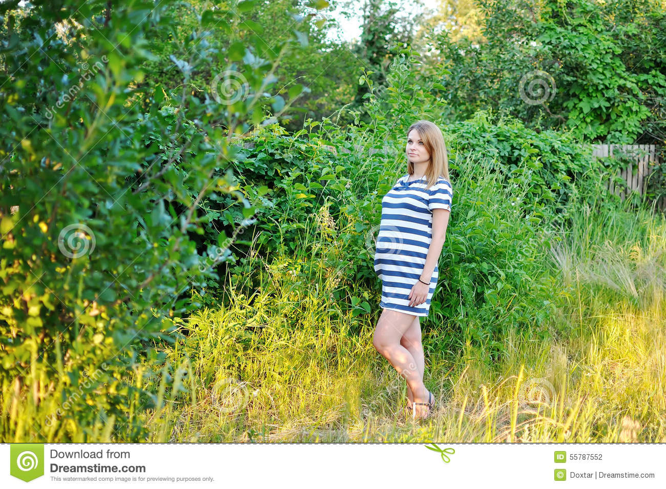 Pregnant girl stock photo image 55787552 for Gardening while pregnant