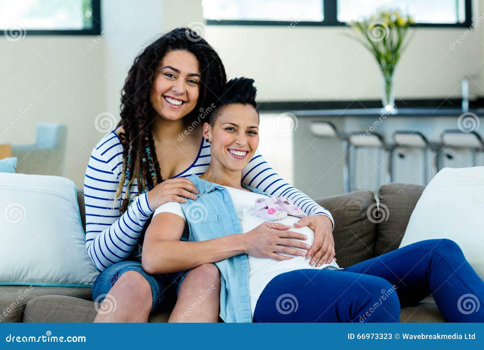 Lesbian Couple Pregnant