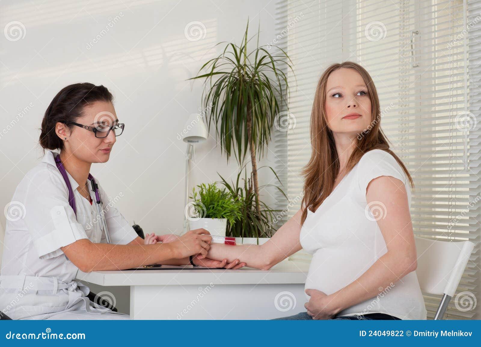 Как проходит прием беременых у гинеколога в