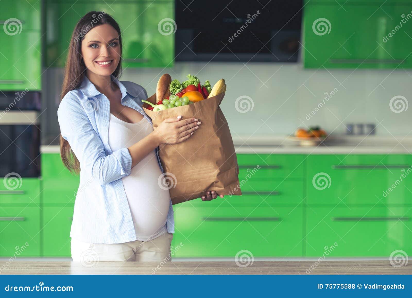pregnant woman kitchen sex