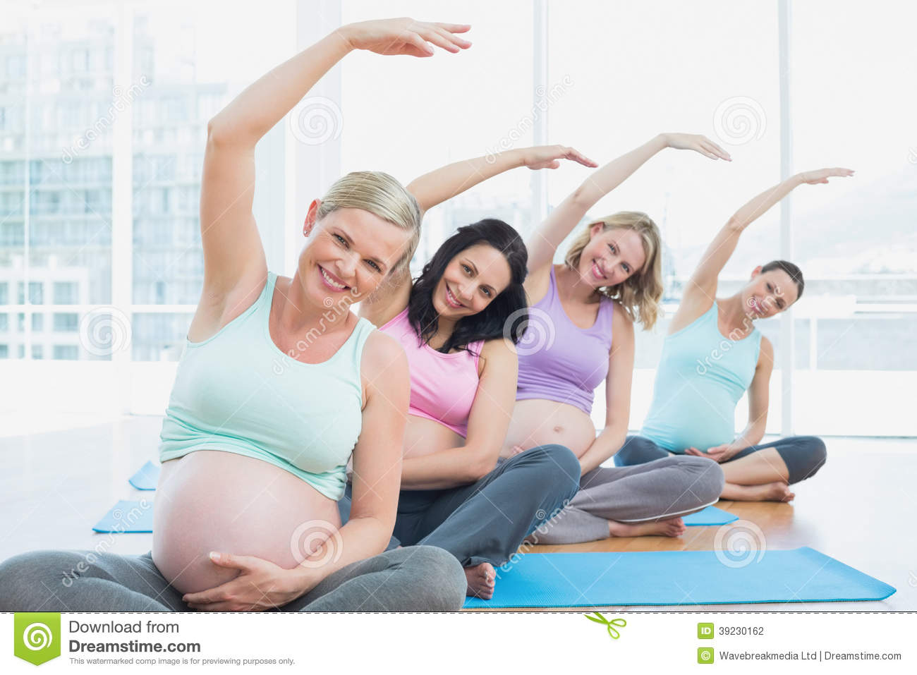 Rode Yoga class for pregnant women was damn