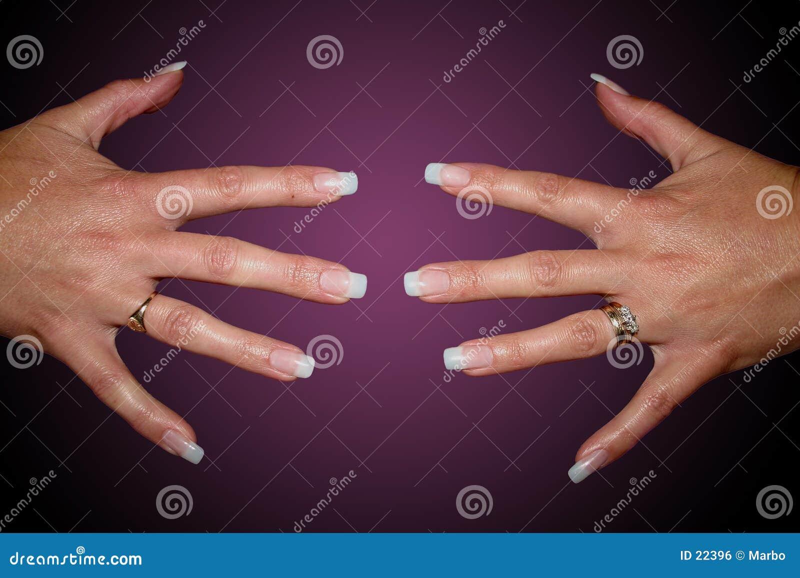 Pregos do dedo
