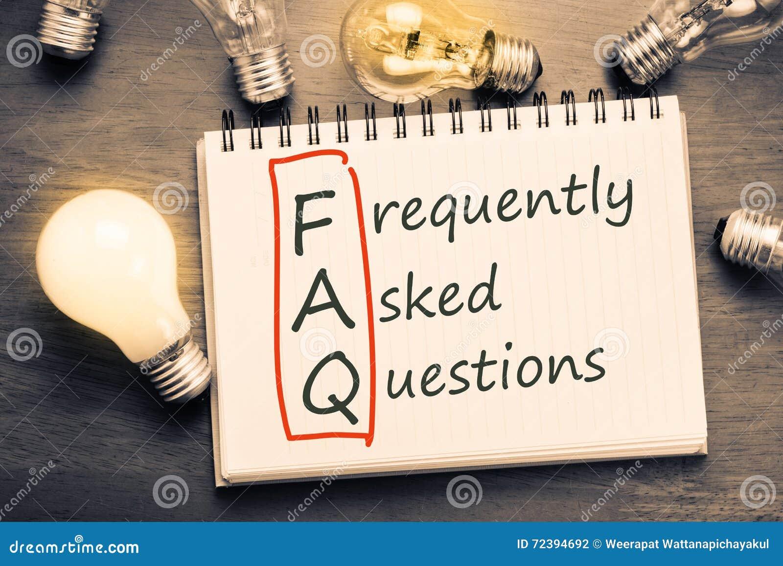 Preguntas más frecuentes