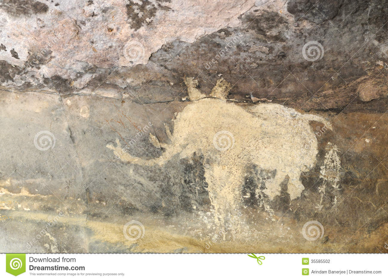 Images Of Cave Paintings In India