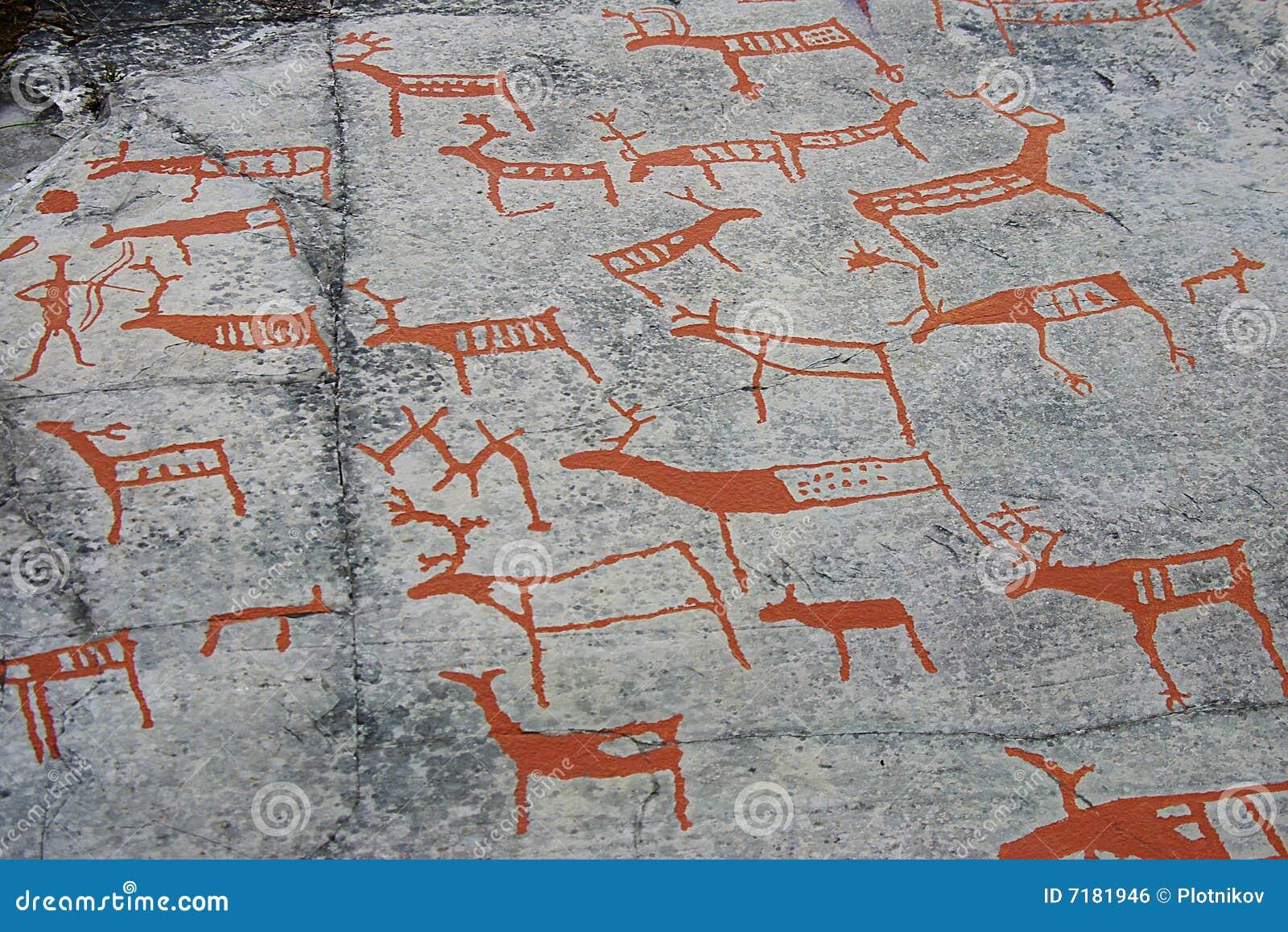 Prehistoryczny jama obraz