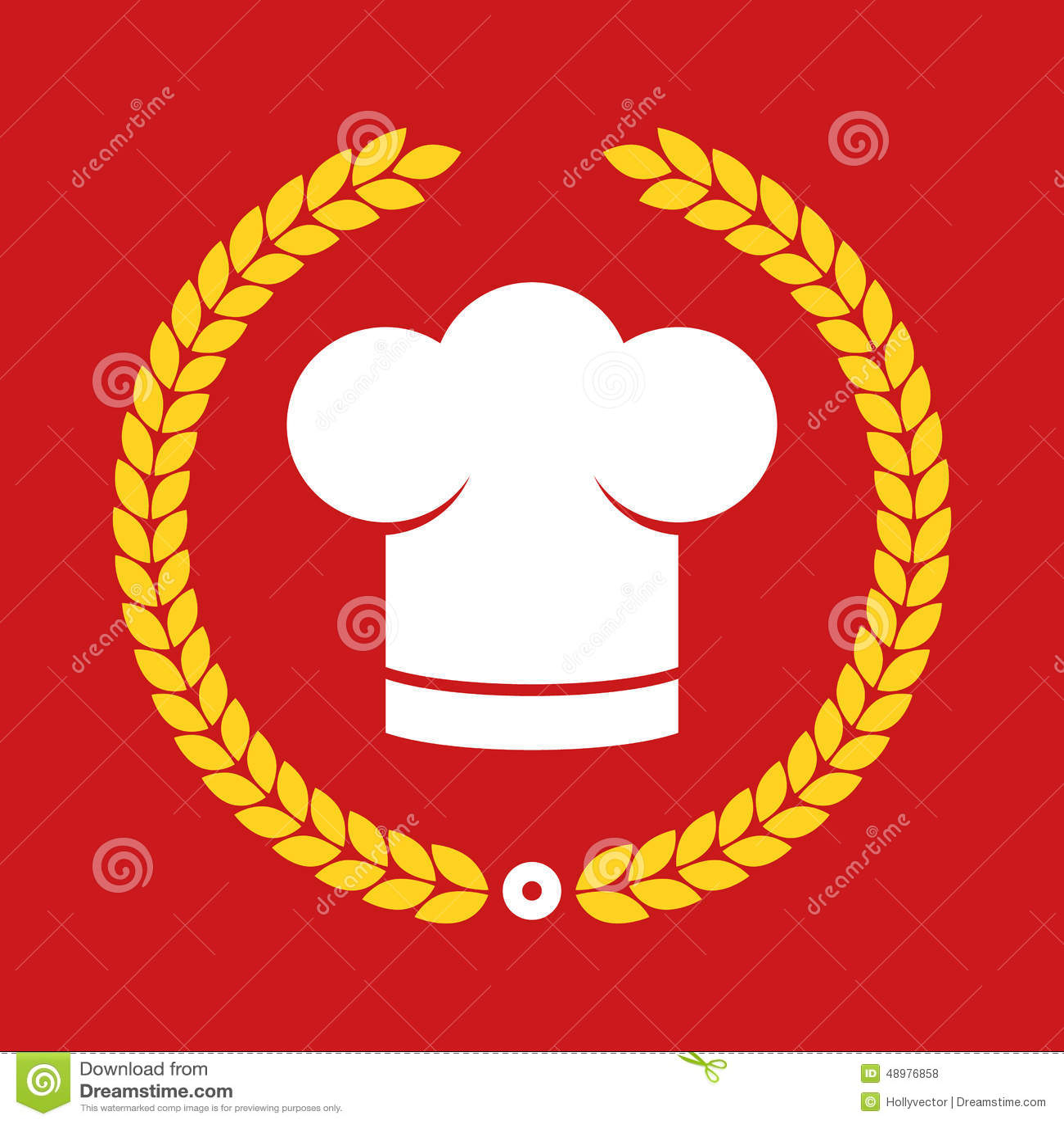 Preis Koch Chef Hut Restaurant Ikone Knopf