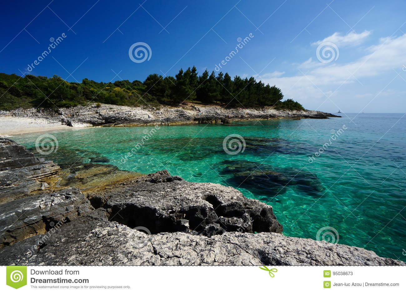 Premantura Pensinsula coast, Croatia