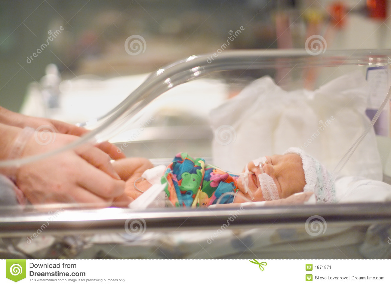 Premature Baby Stock Image Image Of Infant Hospital