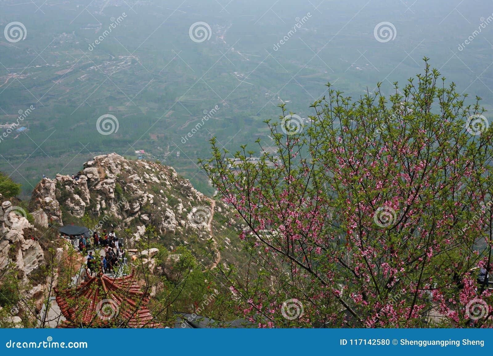 Première montagne d ancêtre de Xinzheng