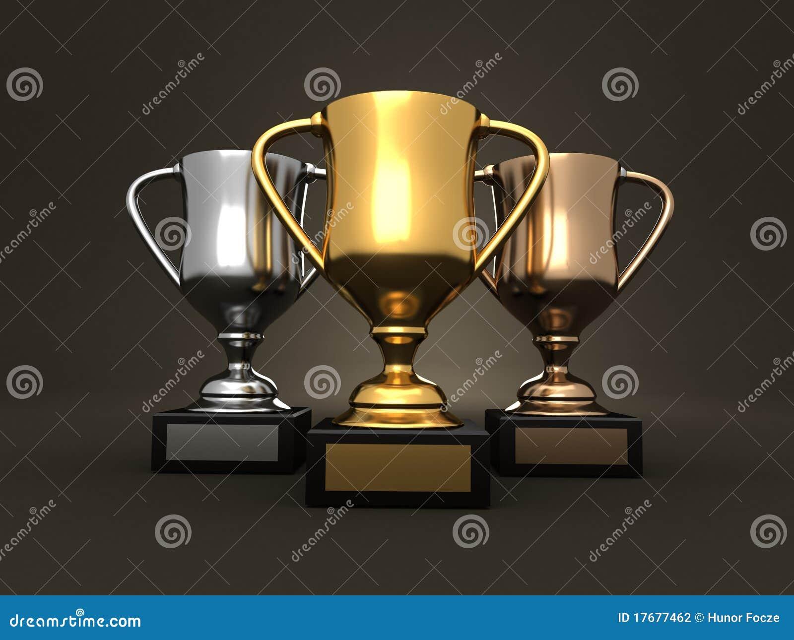 Premi - trofei dell oro, dell argento e del bronzo