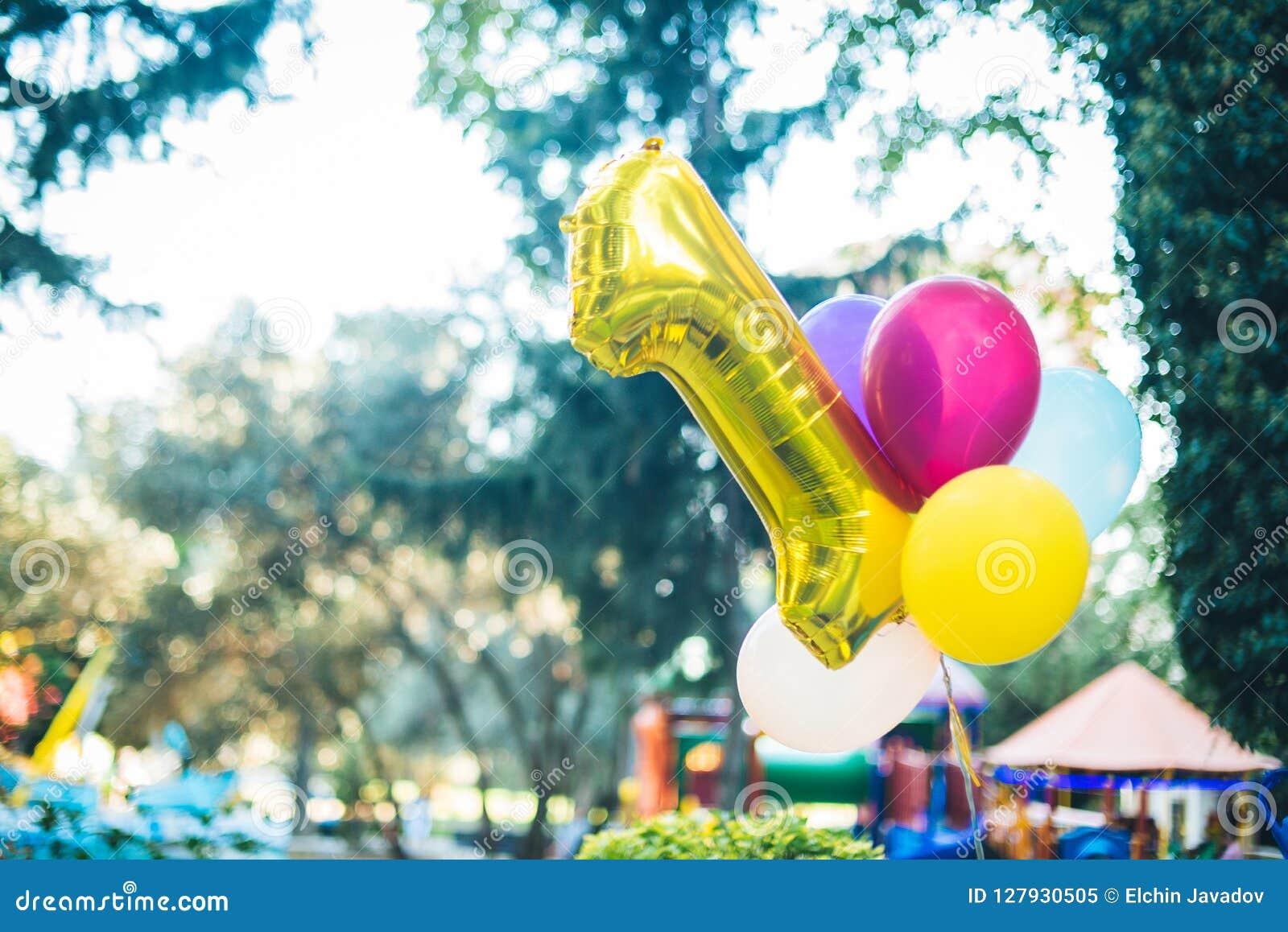 Premier baloon d anniversaire