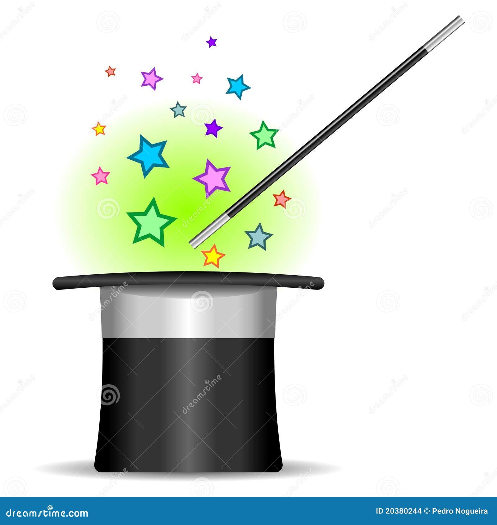 Premier chapeau de magicien images stock image 20380244 - Dessin de chapeau de magicien ...