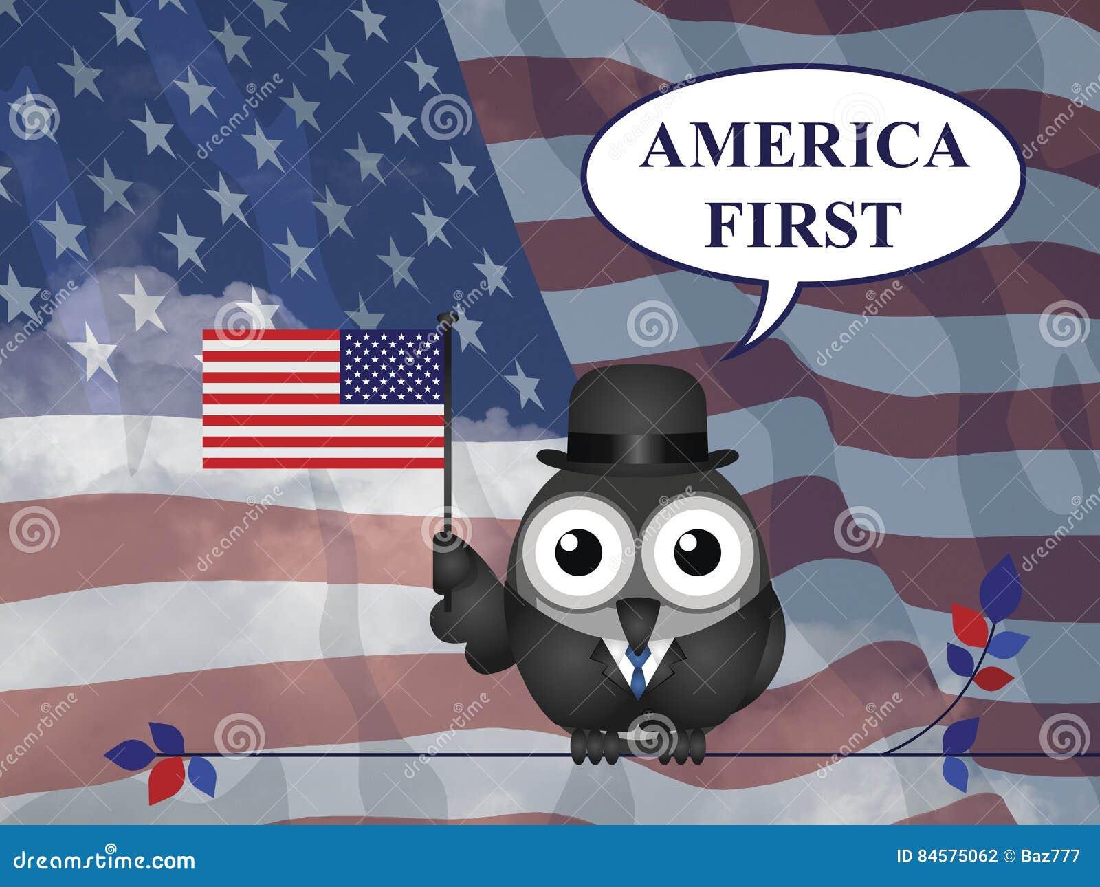 Premier engagement de l Amérique