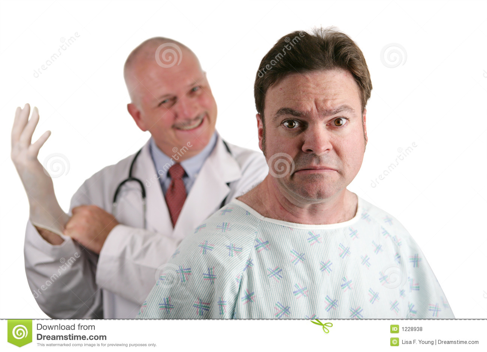 Premier examen de prostate