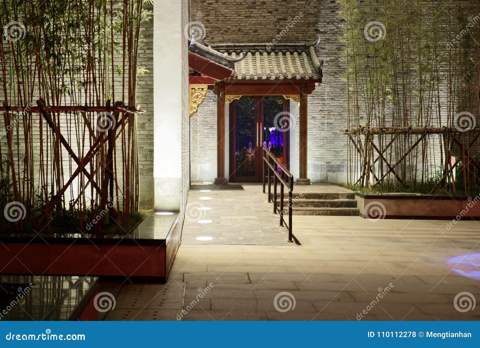 Premier festival de lanterne d architecture-Le classique chinoise à Nan-Tchang