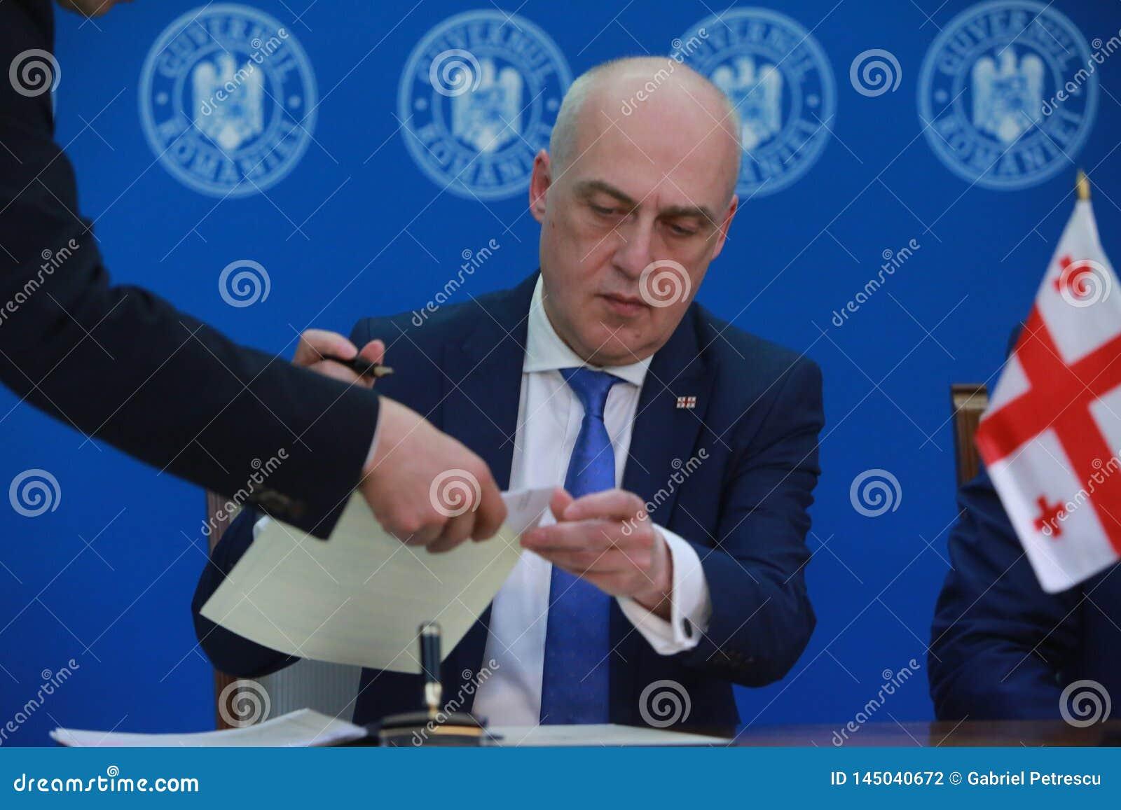 Premier ministre roumain Viorica Dancila