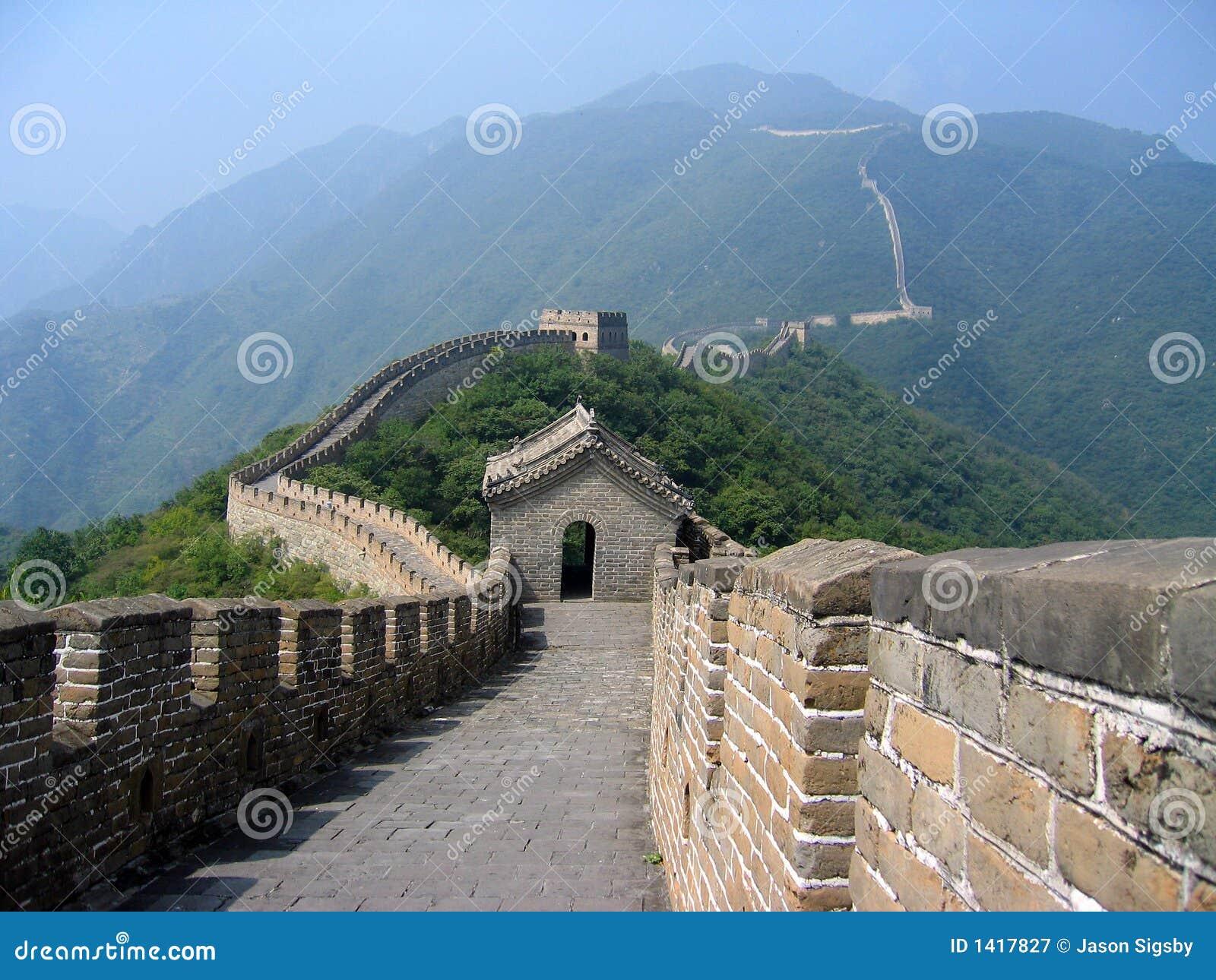 Premier-personne de Grande Muraille