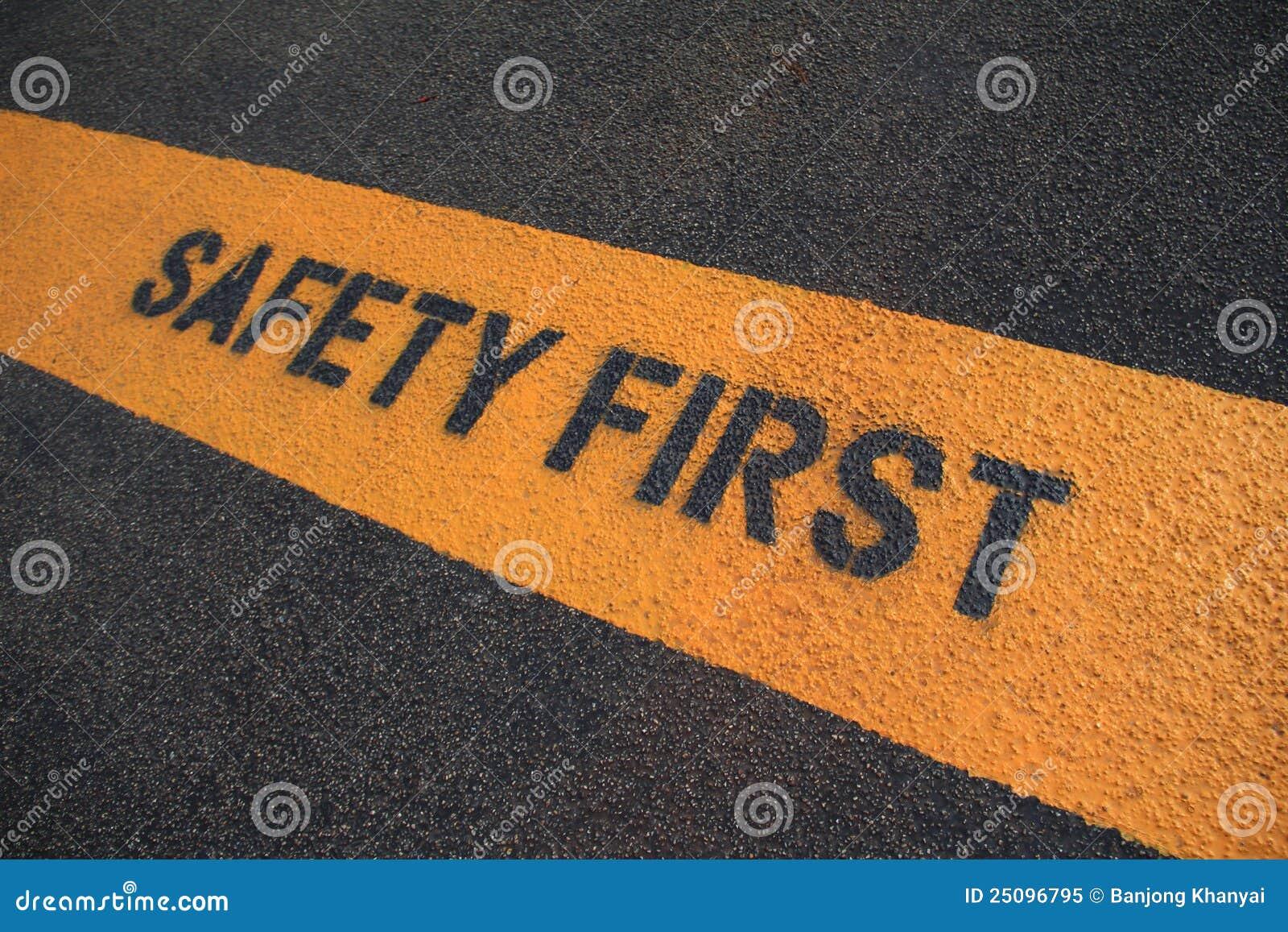 Premier signe de sécurité