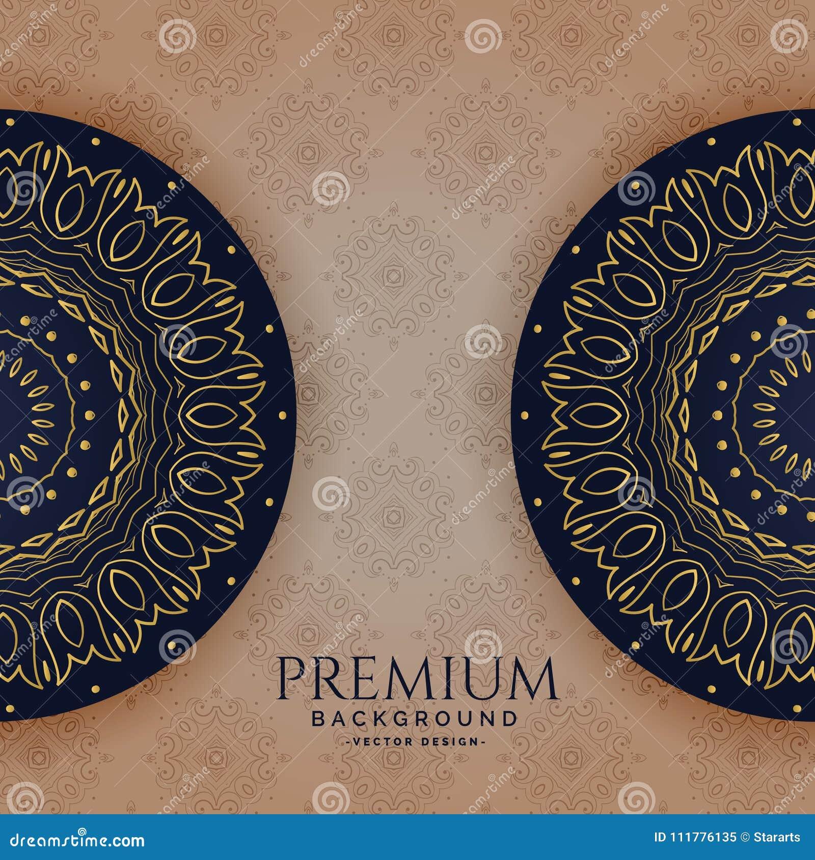 Premium invitation template vector design
