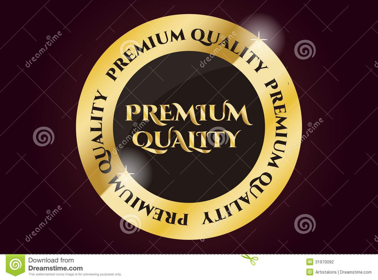 Premium Stock Images Premium Quality Golden Seal