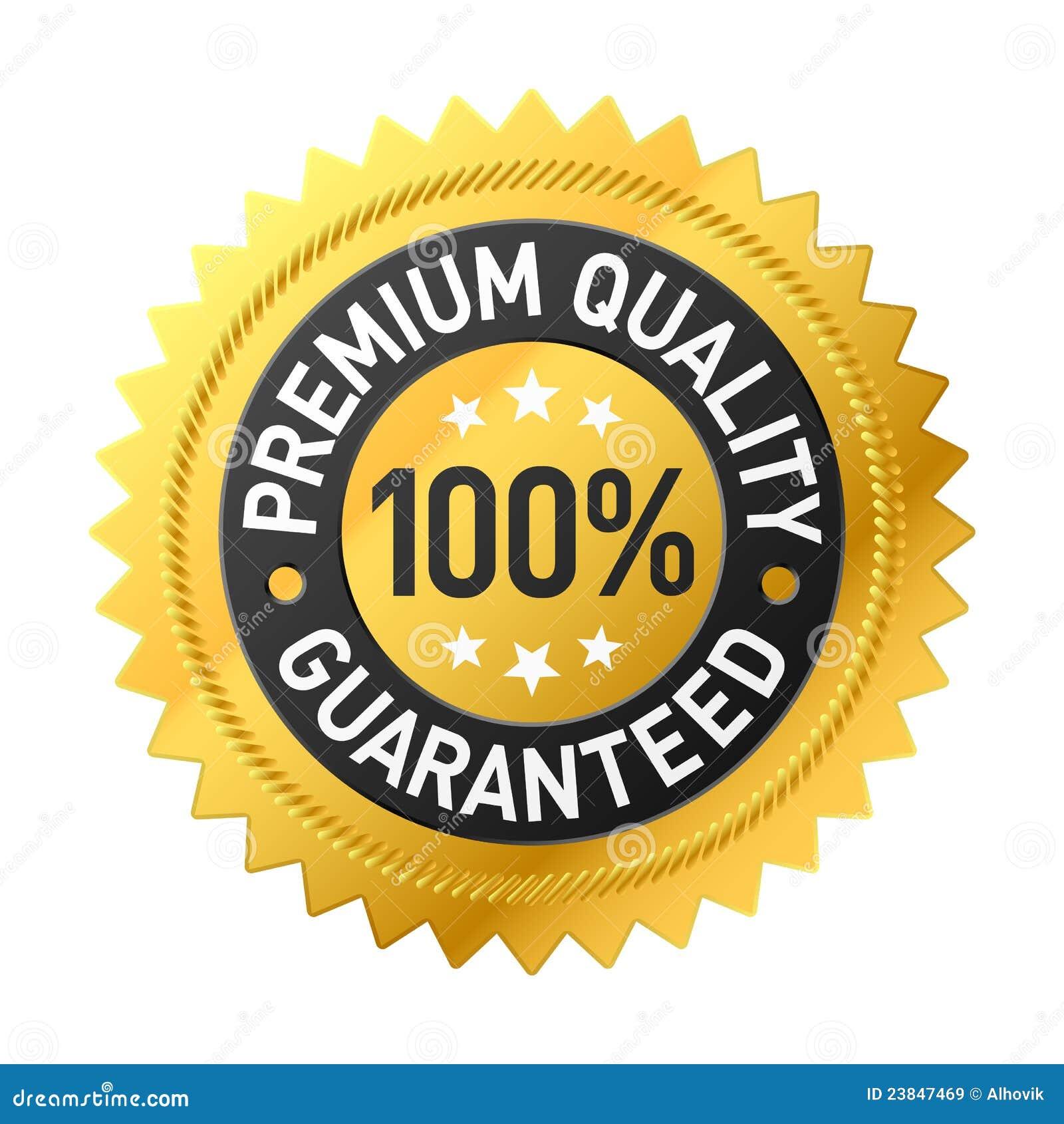 Premium quality label stock vector. Illustration of ...