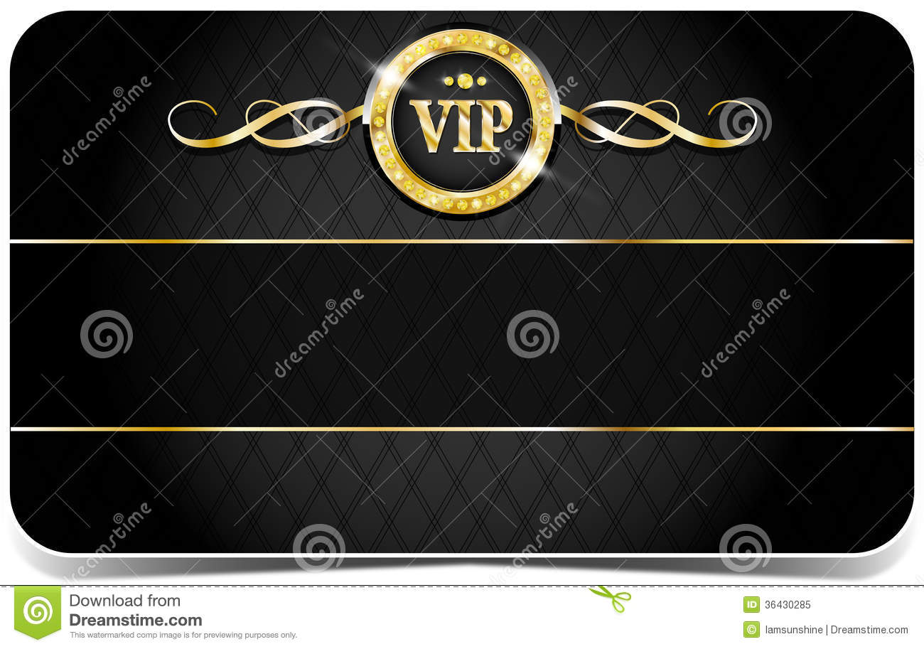 Premium Vip Card Stock Vector Illustration Of Icon