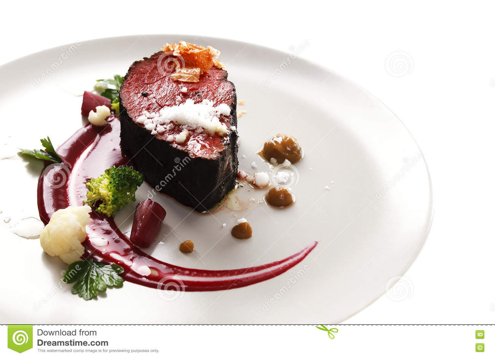Prendedero de la ternera cocina molecular con el filete for Que es la comida molecular