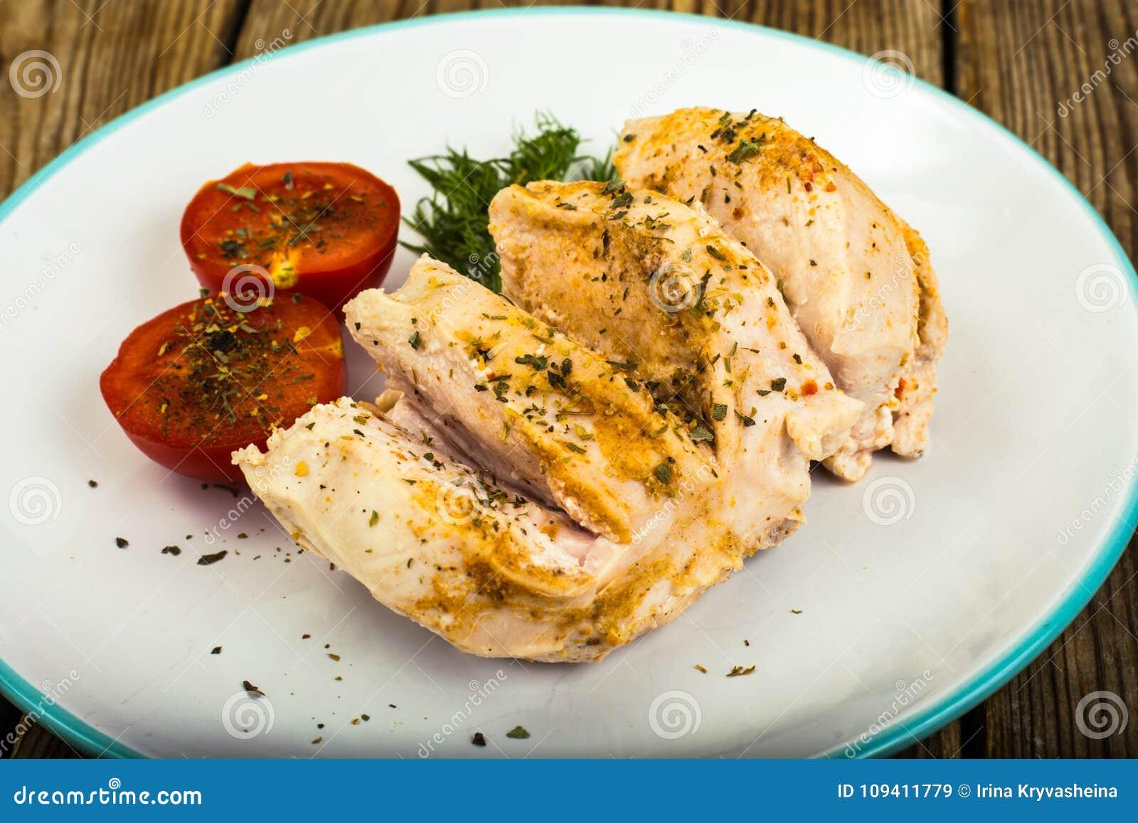 cenas de dieta con pollo