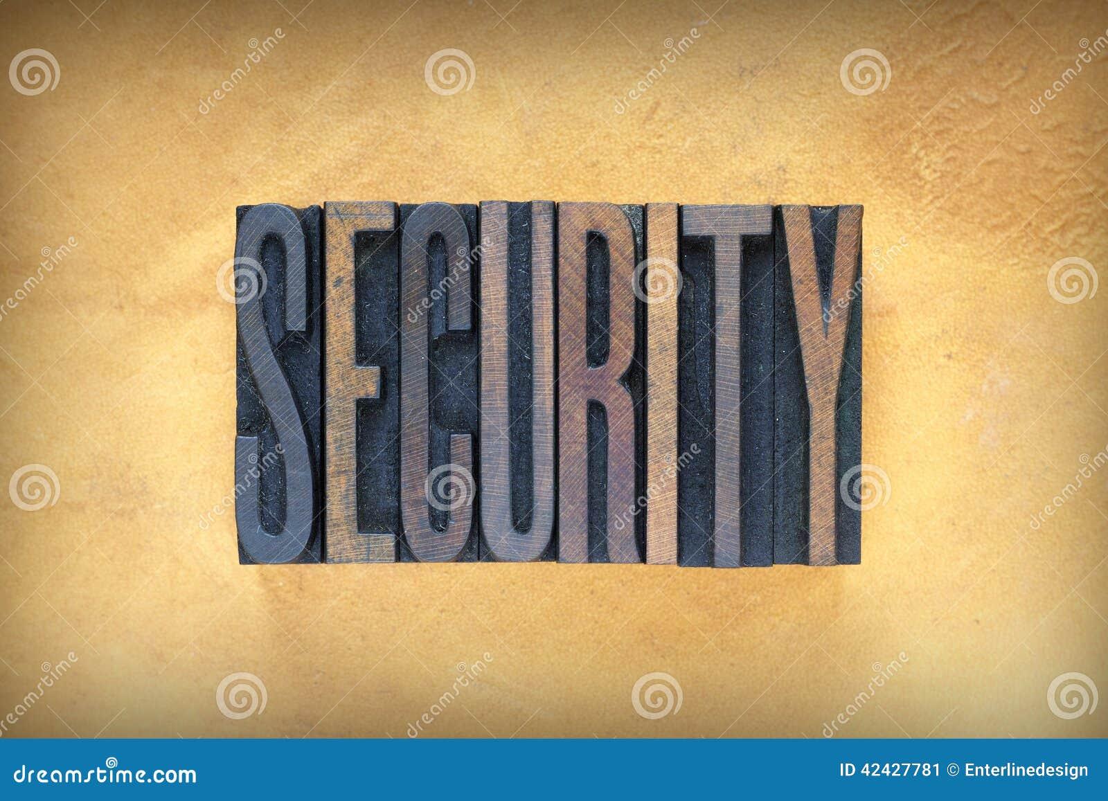 Prensa de copiar de la seguridad