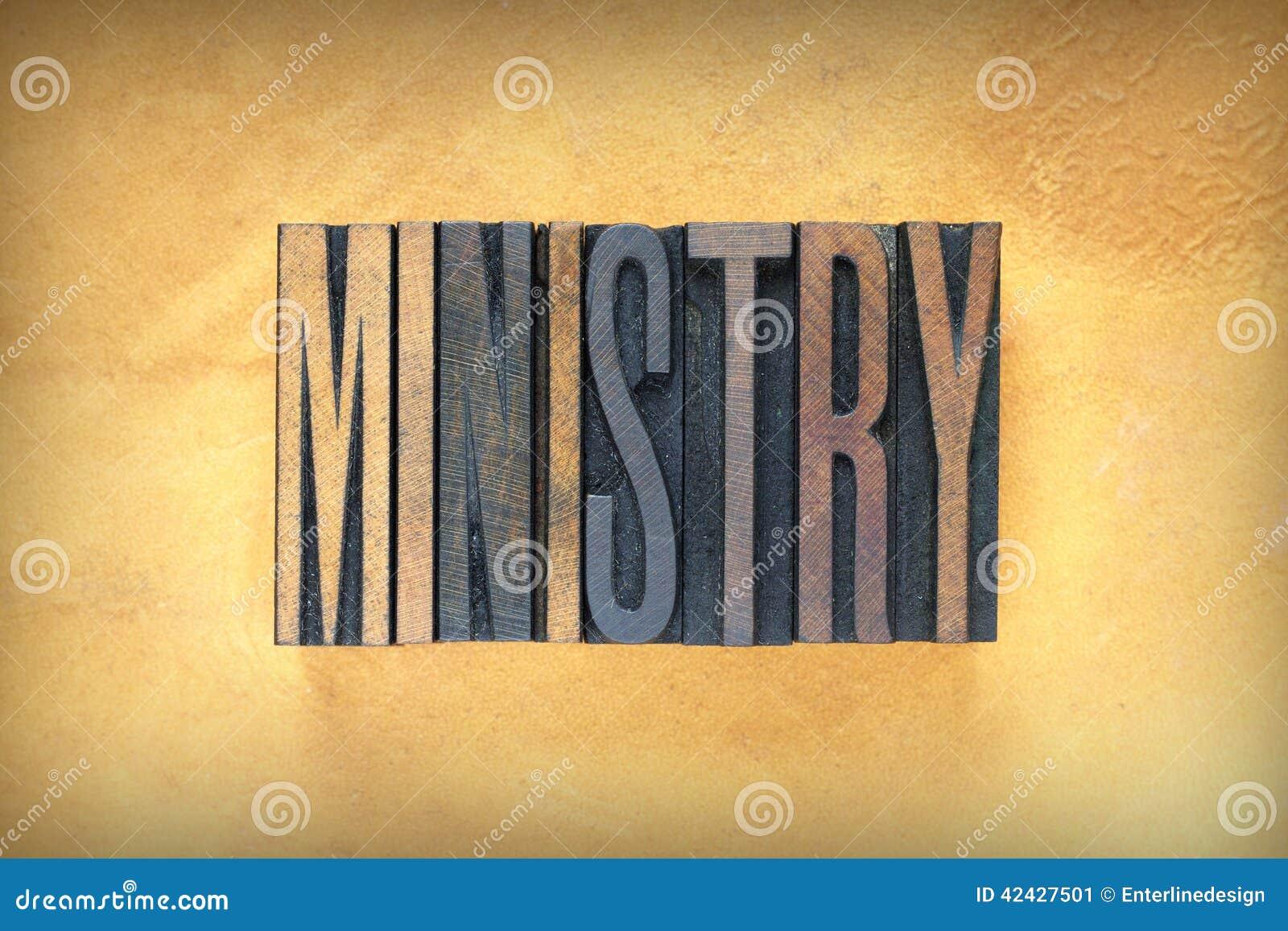 Prensa de copiar del ministerio