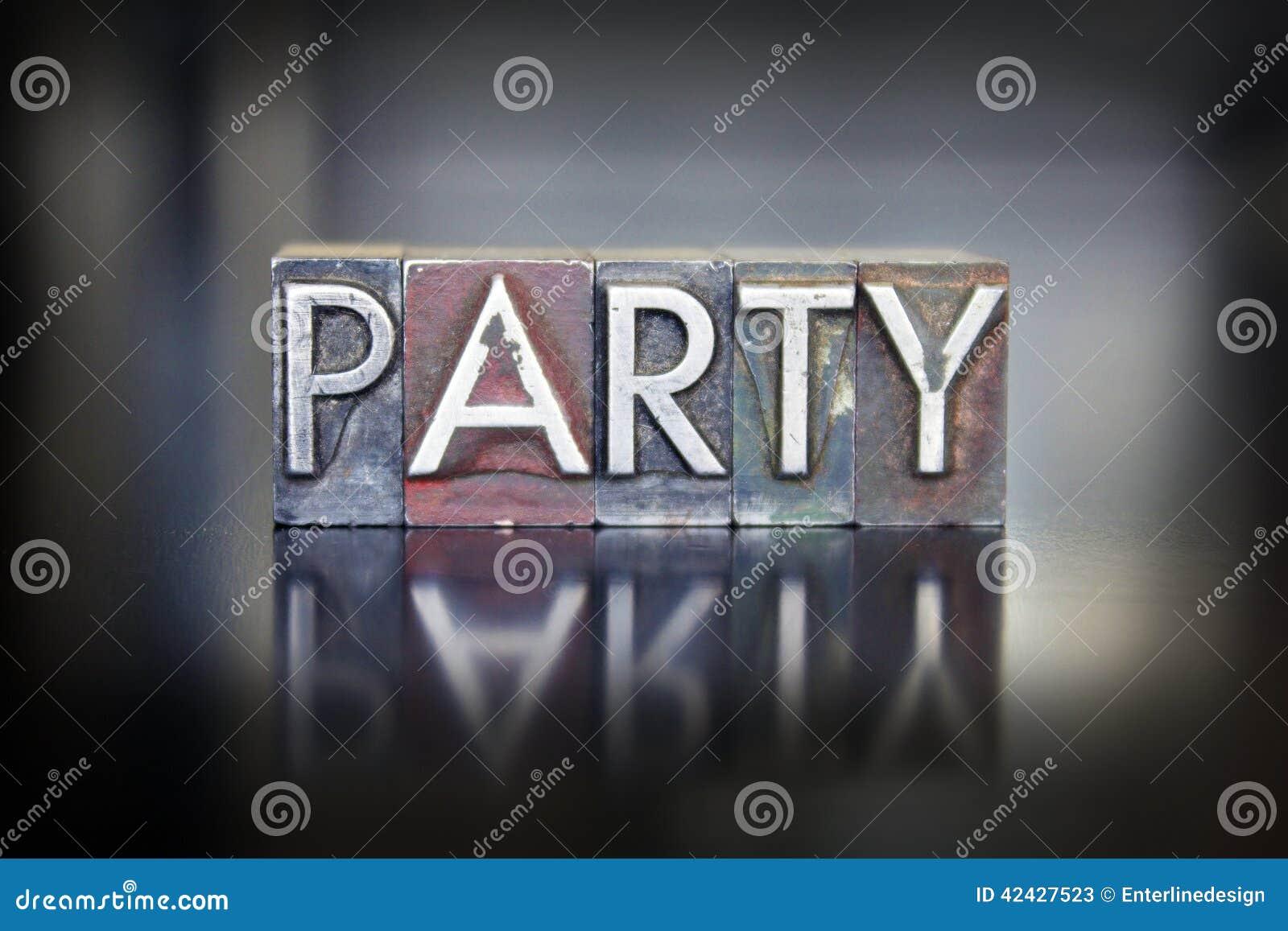 Prensa de copiar del partido
