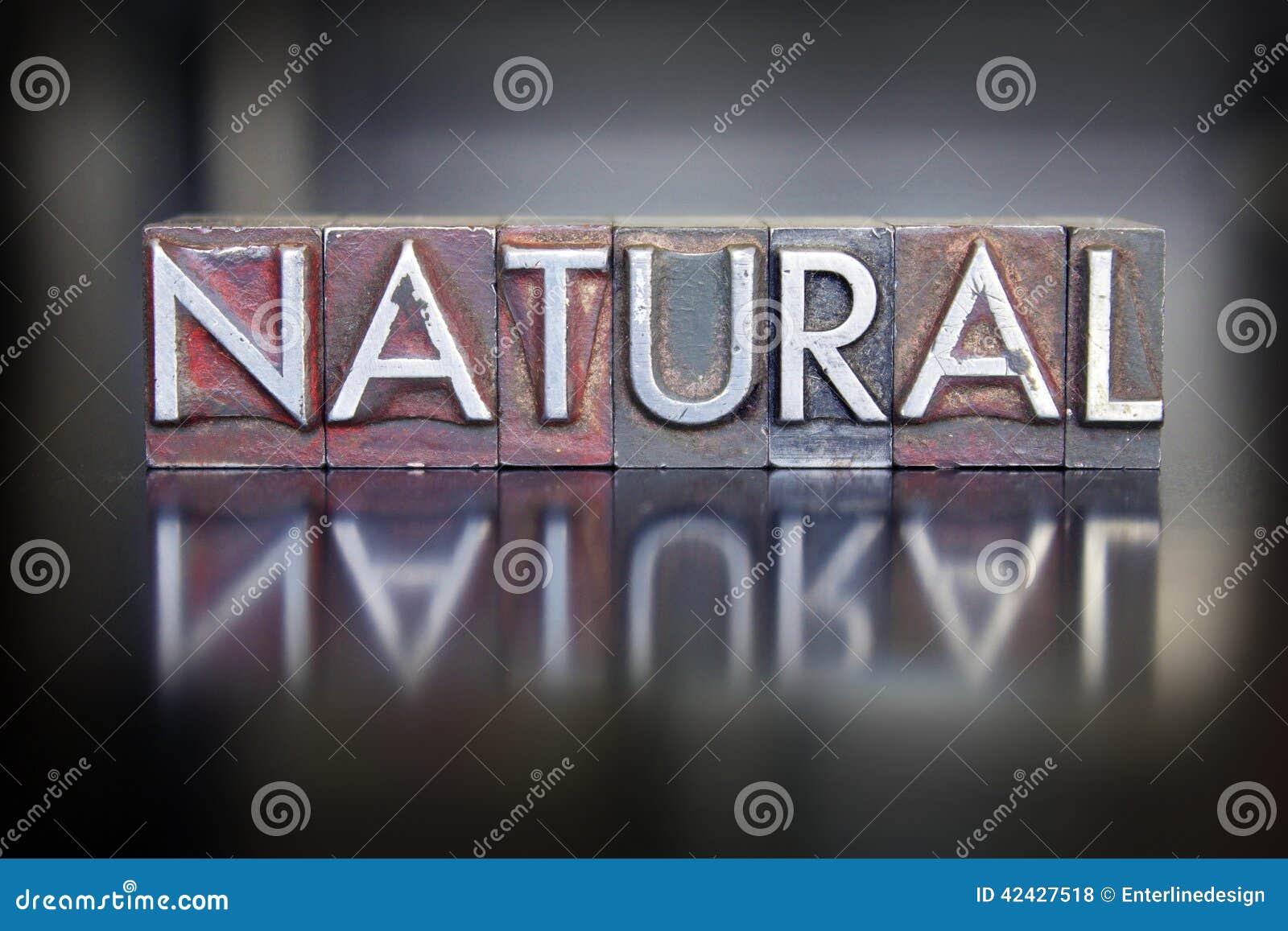 Prensa de copiar natural