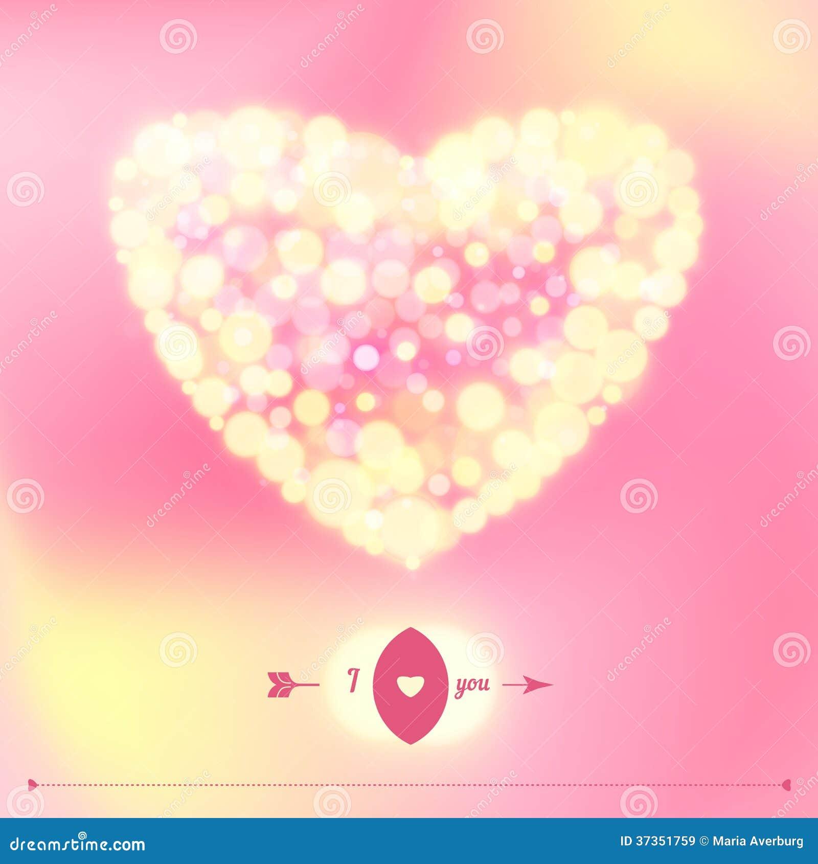 Prentbriefkaar voor de dag van Gelukkig Valentine.