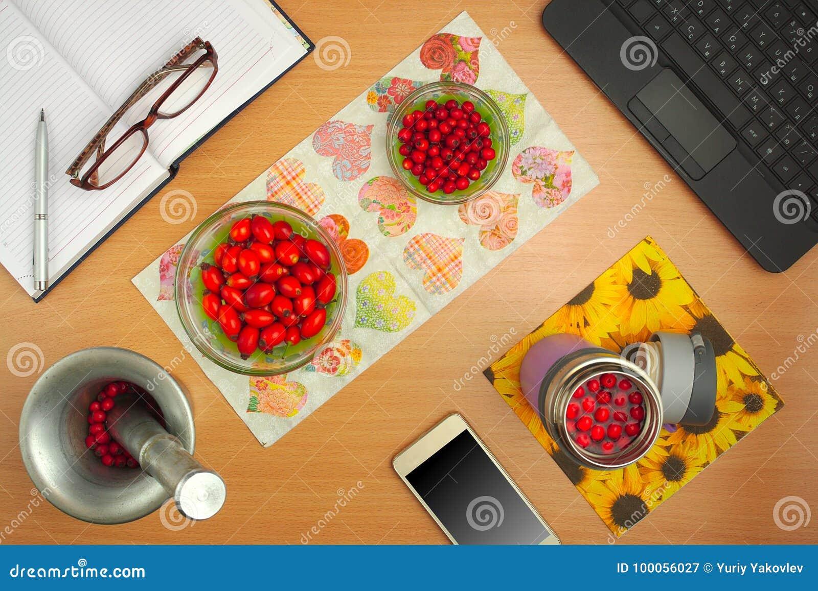 Preparação do cão das tinturas cor-de-rosa e o espinho, o telefone, os vidros e o livro