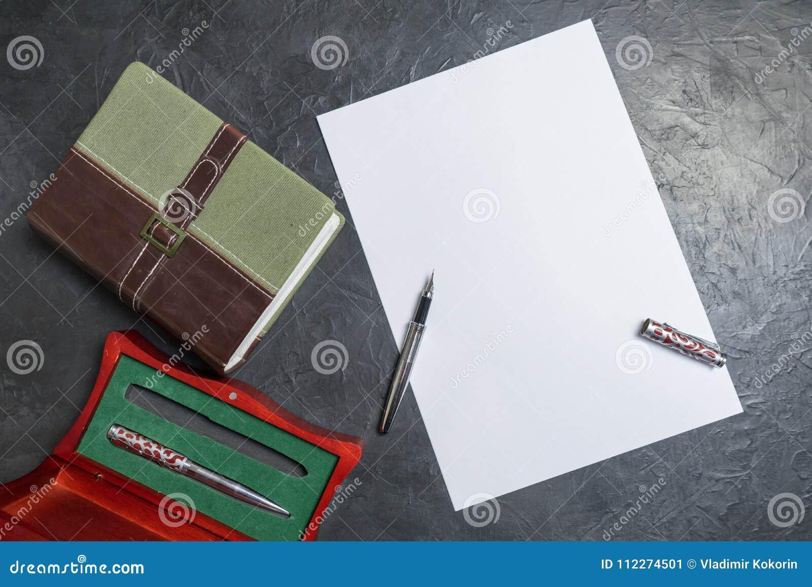Preparação escrever a vontade Lugar para seu texto