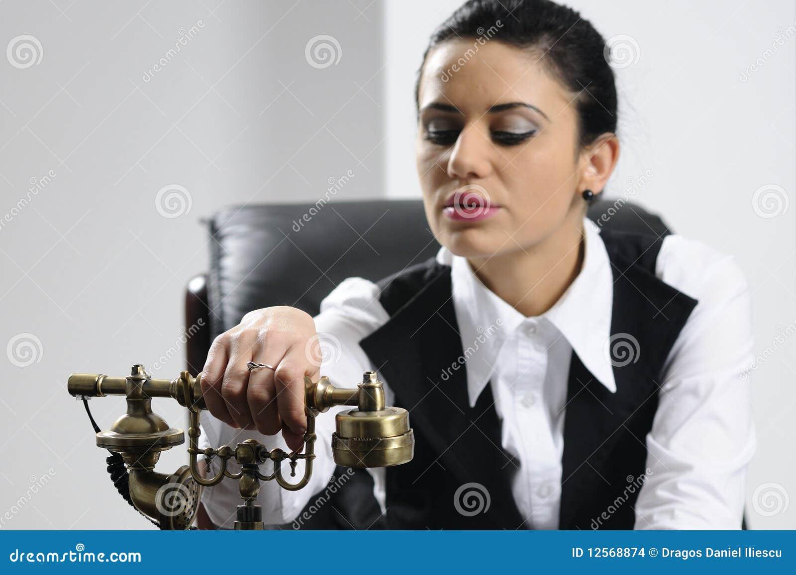 Preparação nova da mulher de negócio