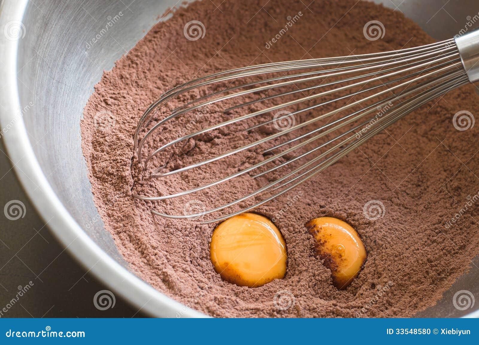preparacion de torta de chocolate