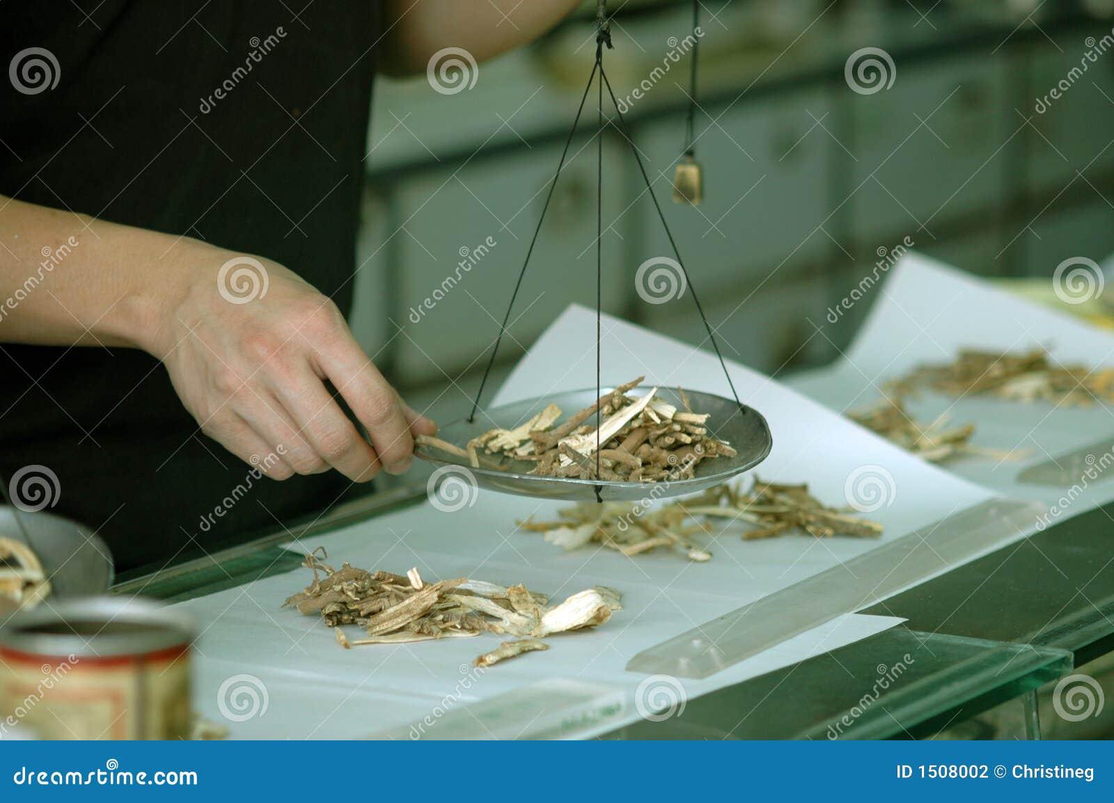 Preparación de la medicina china