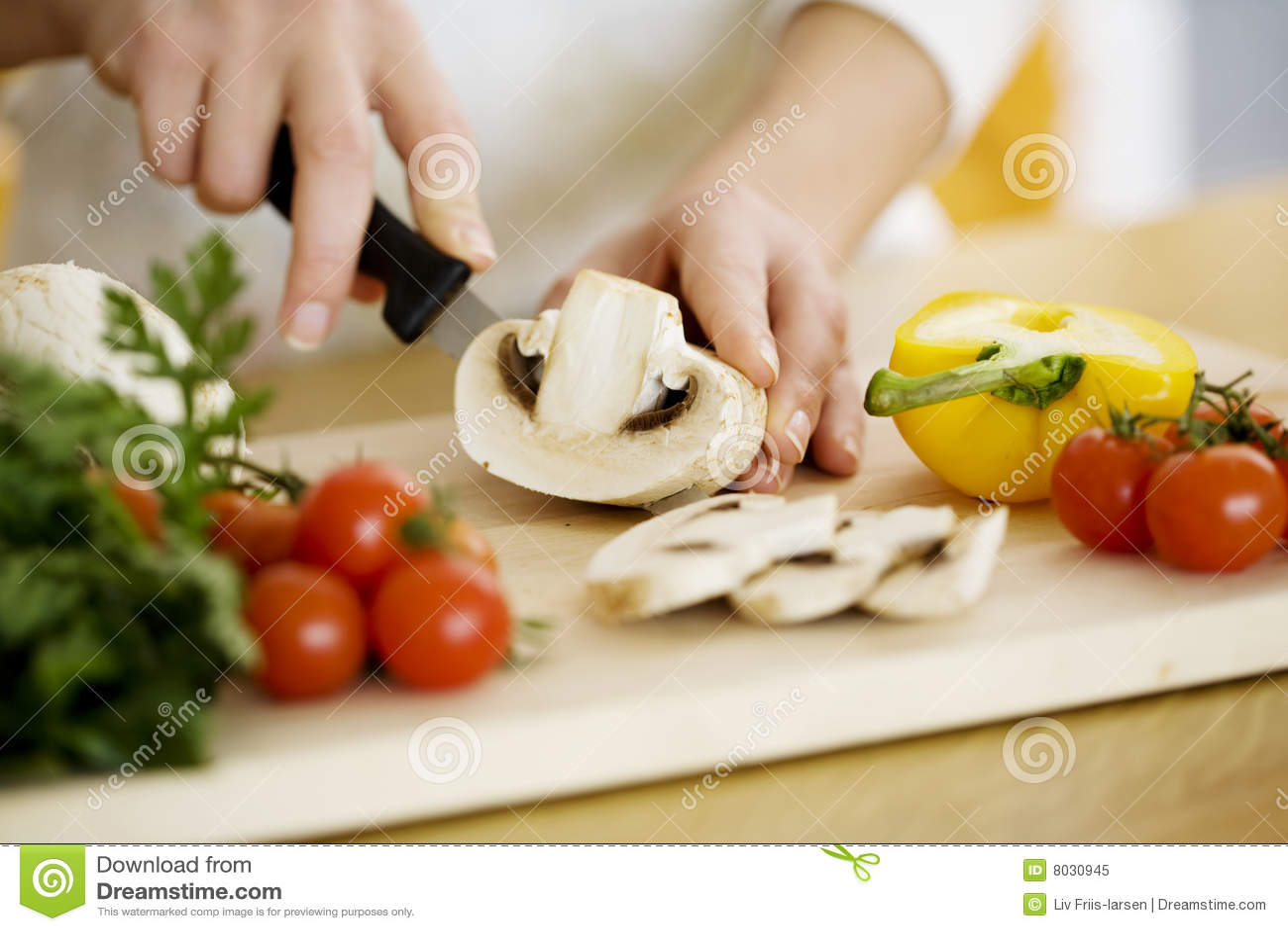 Preparación del alimento