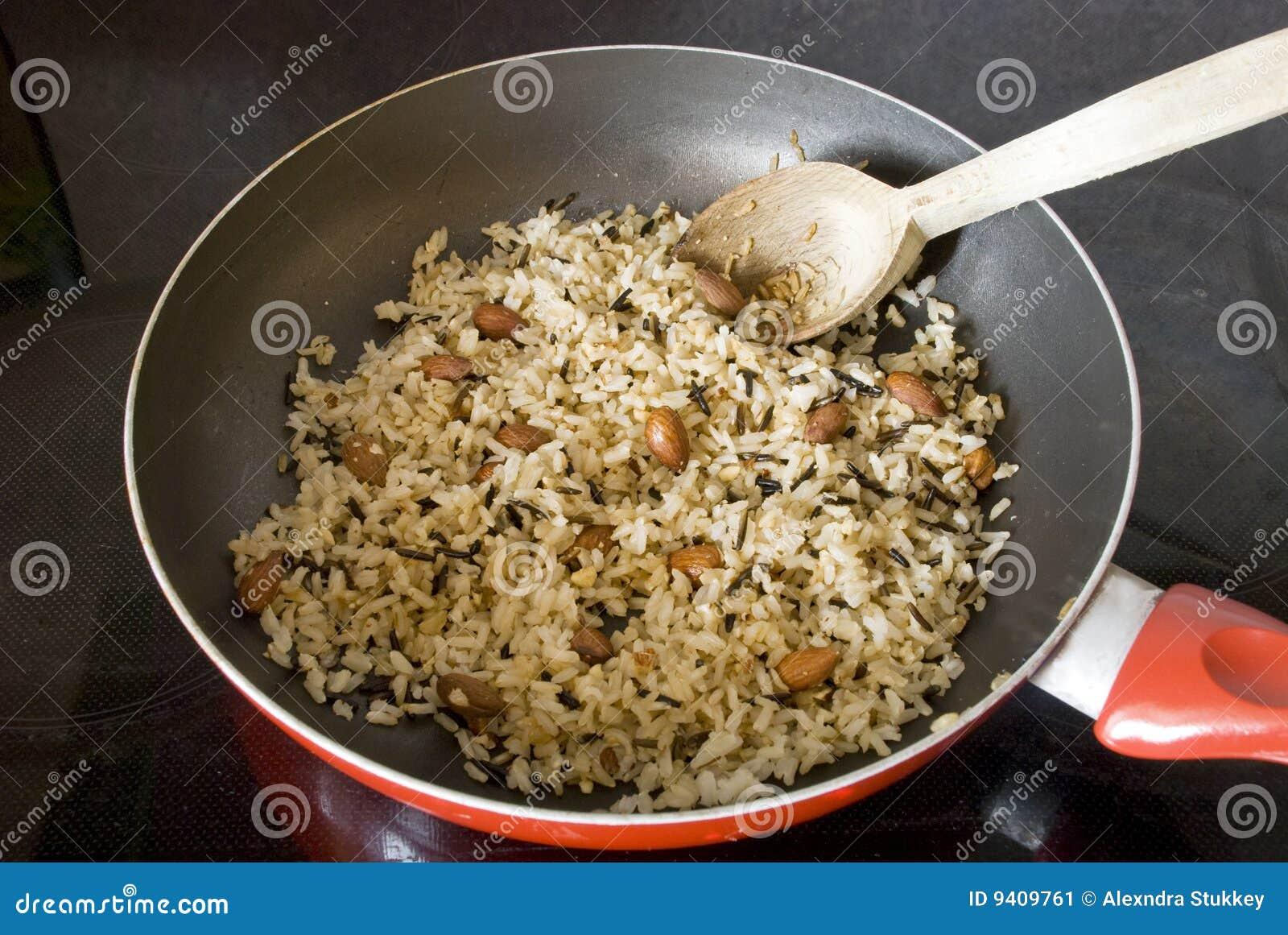 Preparación del arroz