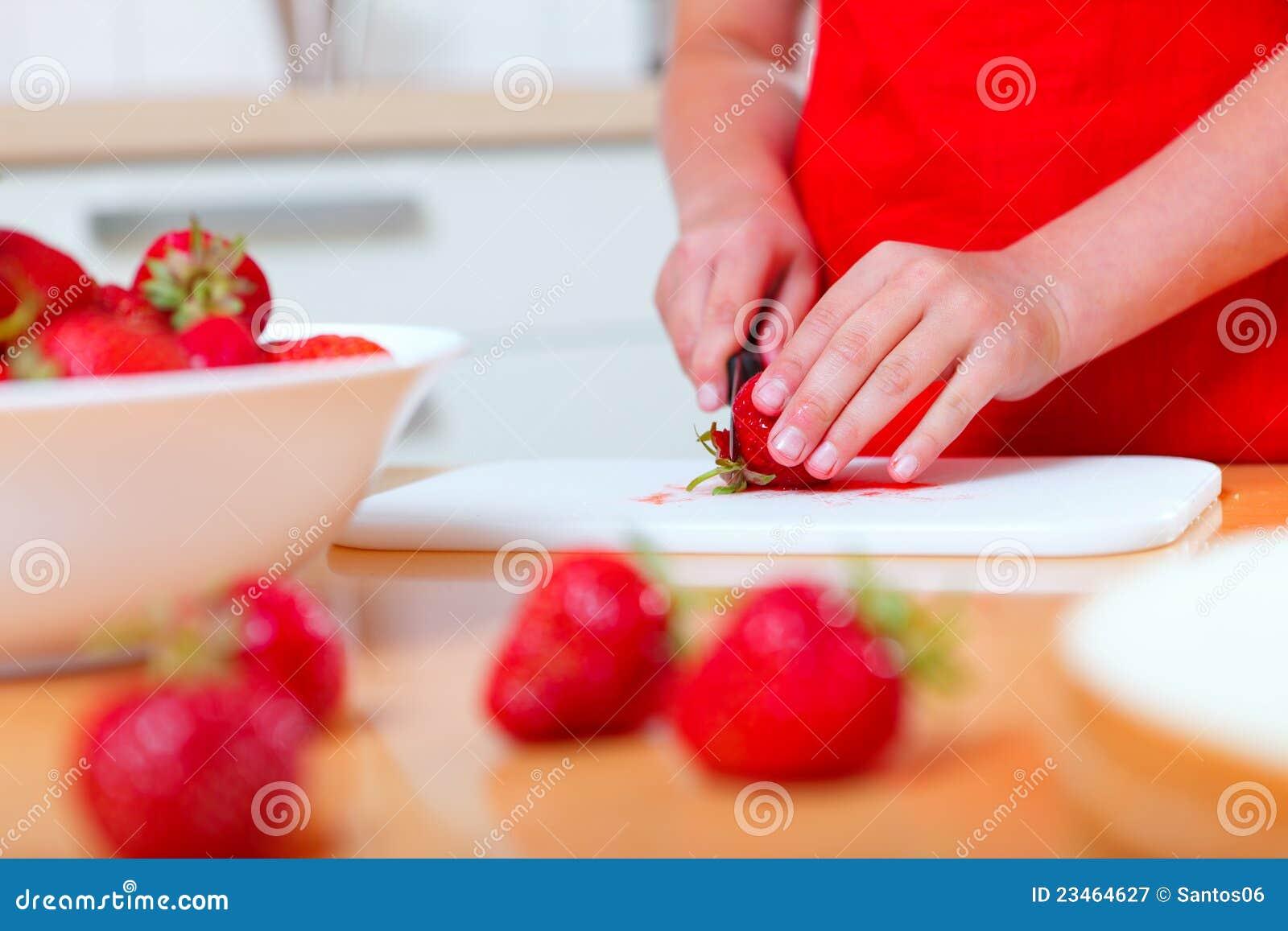 Preparando o alimento