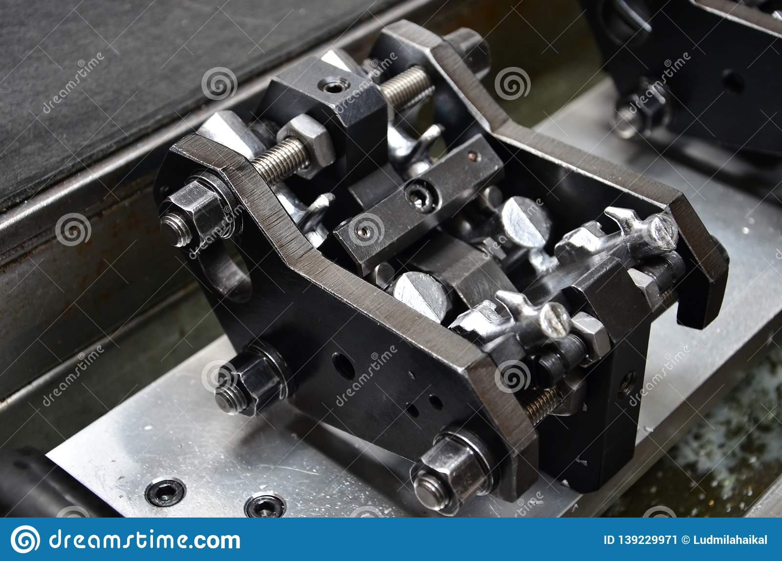 Preparation Of Parts Of Airbrush And Spray Gun For CNC Lathe