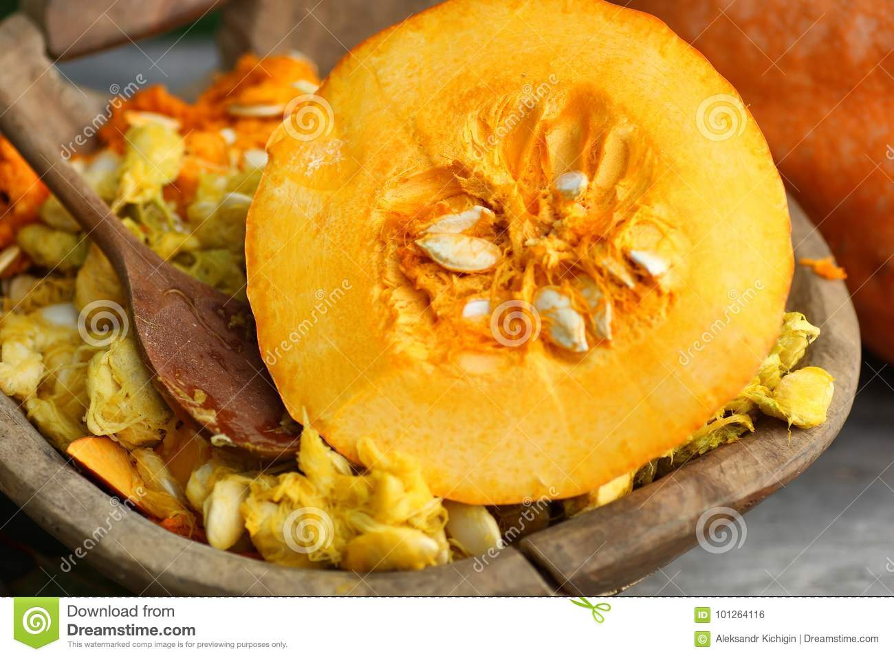 cut pumpkins outdoor stock photo. image of celebration - 101264116
