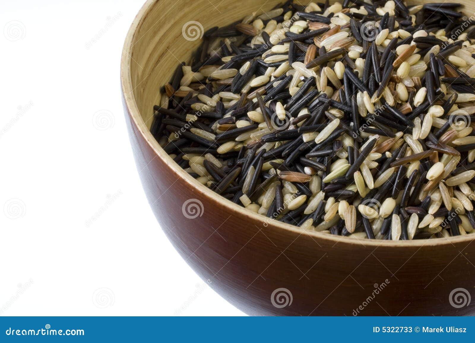 Download Preparato Del Riso - Bown, Selvaggio, Basmati Immagine Stock - Immagine di spazio, grano: 5322733