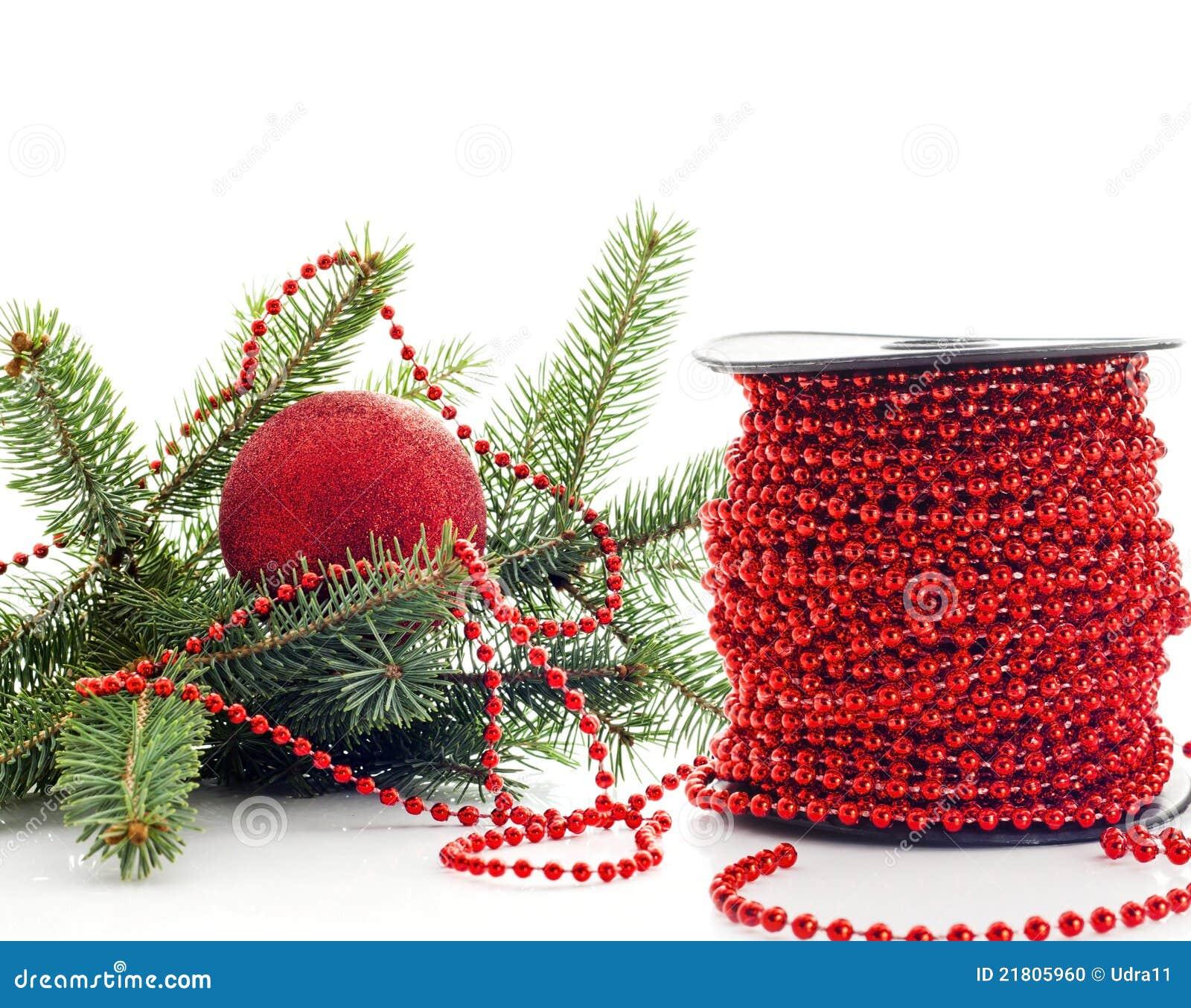 Prepare To Dressing Christmas Tree Stock Photo Image