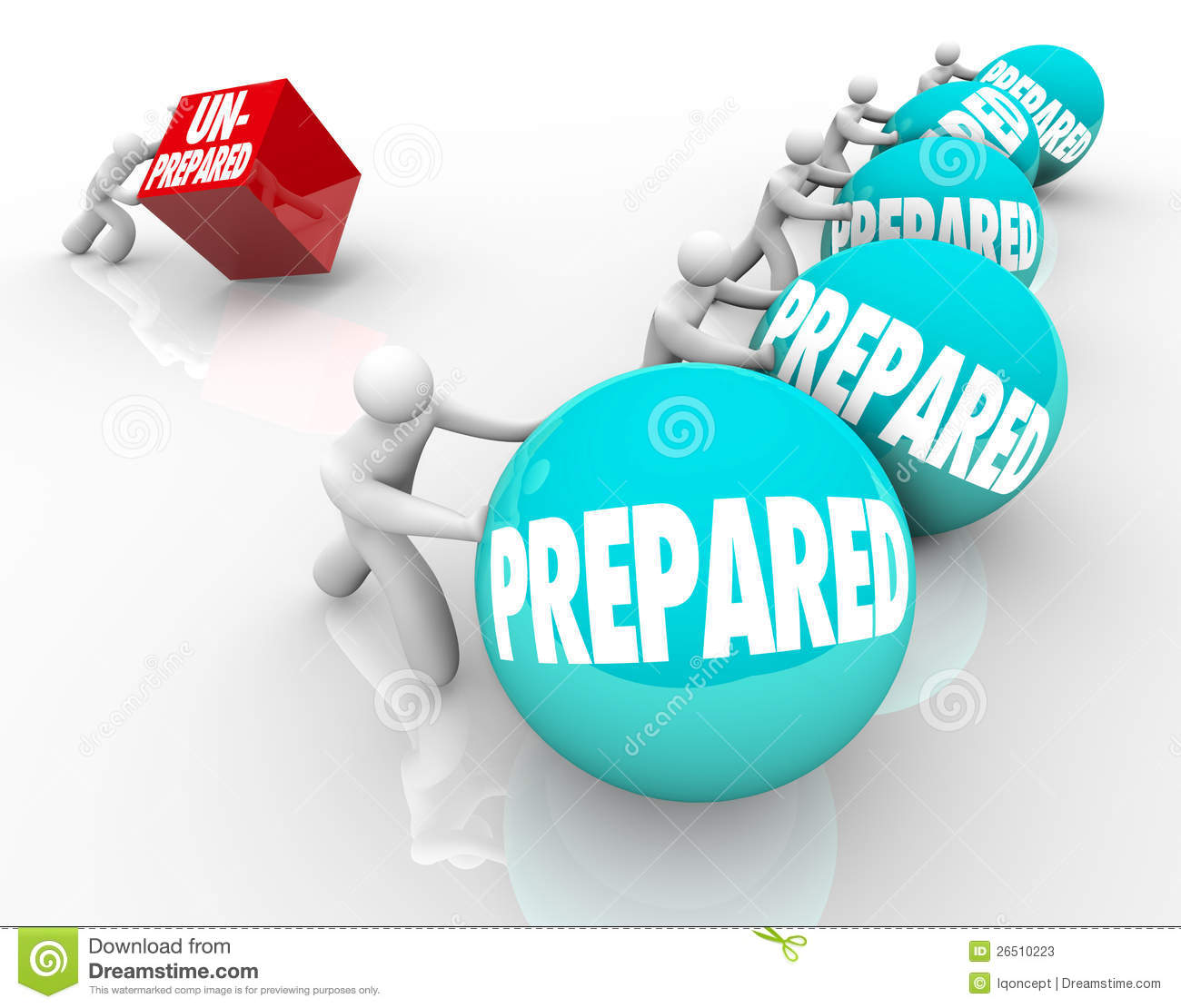 Prepared Vs Unprepared Advantage Ready Unready